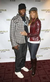 Talib Kweli and Wife DJ EQue