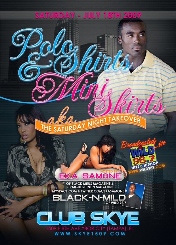 Polo Shirts & Mini Skirts 7.18.2009