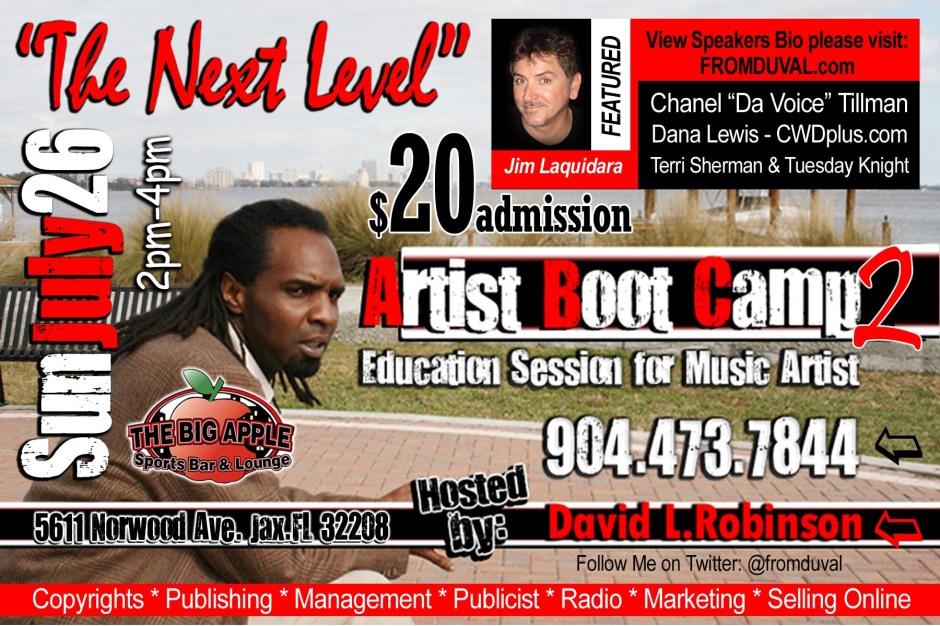 Artist Boot Camp 2