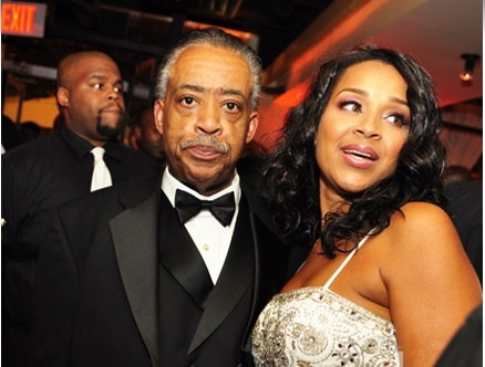 Al Sharpton & Lisa Raye